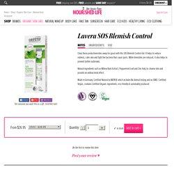 Lavera SOS Blemish Control