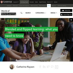 Blended And Flipped Learning