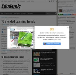 10 Blended Learning Trends - Edudemic