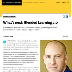 What's next: Blended Learning 2.0