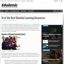 16 of the Best Blended Learning Resources