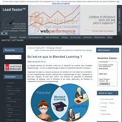 Qu'est-ce que le Blended Learning ?