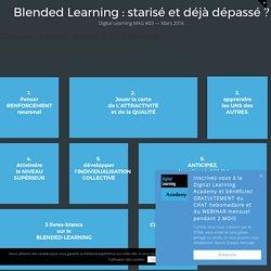 Blended Learning : starisé et déjà dépassé ?