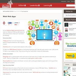 Math Web Apps