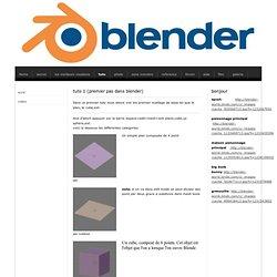 tuto - blender