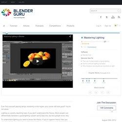 Blender Lighting Tutorial - Blender Guru