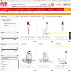 Hand blender online with Maximum Discount