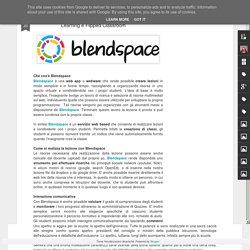 creazione e gestione di lezioni - Blended Learning e Flipped Classroom