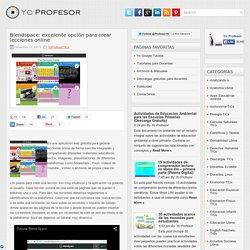 Blendspace: excelente opción para crear lecciones online