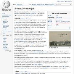Blériot Aéronautique
