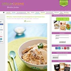 Recette de Blésotto, risotto de blé aux champignons et parmesan frais