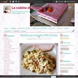 Blesotto aux courgettes WW (Cookeo) - La cuisine de Boomy