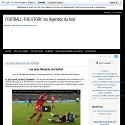 Les pires blessures du football - Les legendes du football, les meilleurs buteurs de tous les temps, l'histoire et palmarès du footbal