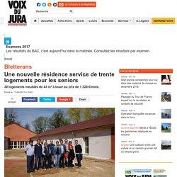 Bletterans. Une nouvelle résidence service de 30 logements pour les seniors - 11/04/17