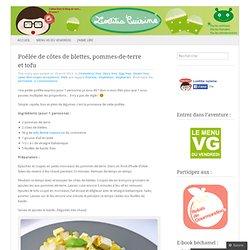 Poêlée de côtes de blettes, pommes-de-terre et tofu
