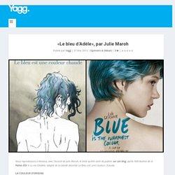 «Le bleu d'Adèle», par Julie Maroh