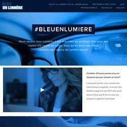 Bleu en lumiere