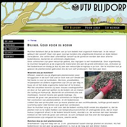 Mulchen: Goed voor de bodem