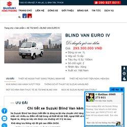 BLIND VAN EURO IV