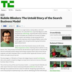 The Untold Story of the Search Business Model