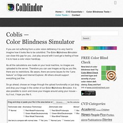 Coblis — Color Blindness Simulator