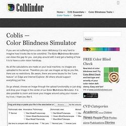 Coblis — Color Blindness Simulator