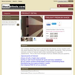 Blinds And Shades Online Store! Roller Shades, Roller Sheer Shades, Window Treatments, Custom Window Coverings