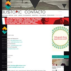 Blisstopic - contacto