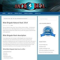 » Blitz Brigade Natural Hack 2014 – Hack4eal.com