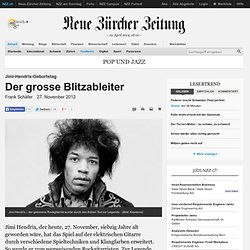 The big lightning rod - NZZ.ch, 27.11