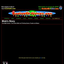 Blob's Story - Play it now at Coolmath-Games.com