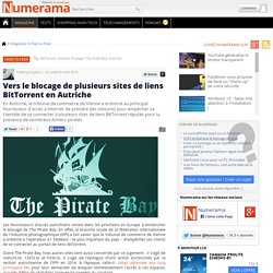Vers le blocage de plusieurs sites de liens BitTorrent en Autriche