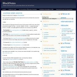 Liste presse USA UK Ac Rouen