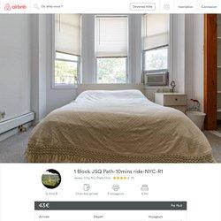 1 Block JSQ Path-10mins ride-NYC-R1 - maisons à louer à Jersey City