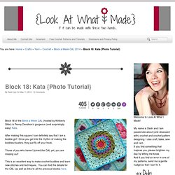 Block 18: Kata {Photo Tutorial}