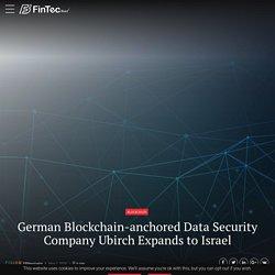 German Blockchain-anchored Data Security Company