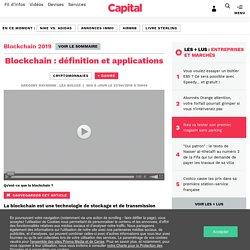 Blockchain : définition et applications