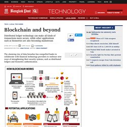 Blockchain and beyond