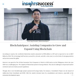 Assisting Companies to Grow&Expand Using Blockchain-BlockchainSpace