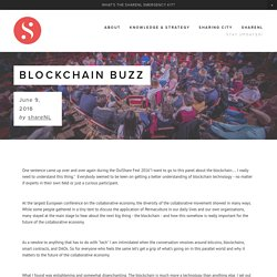 Blockchain Buzz — shareNL