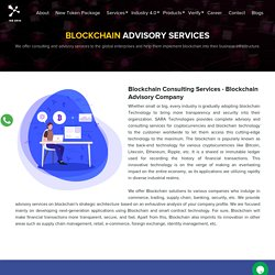 Meet the Blockchain Technology Consultants