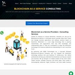 Blockchain as a Service Company
