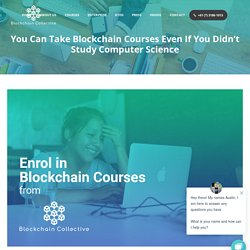 Enrol in Blockchain Courses at Blockchain Collective