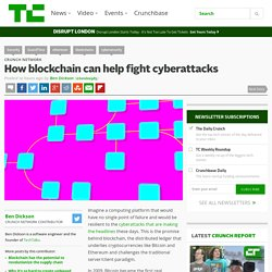 How blockchain can help fight cyberattacks