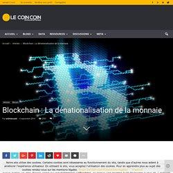 Définition de la notion de Blockchain