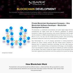 Private Blockchain Development Company