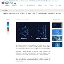 Hedea Hashgraph Vs Blockchain