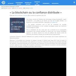 «La blockchain ou la confiance distribuée» – Bitcoin.fr
