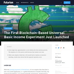 The First Blockchain-Based Universal Basic Income Experiment Just Launched
