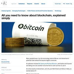 All you need to know about blockchain, explained simply